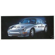 Porsche 993 Aero Kit Front & Rear Spoiler 00004480028 Factory