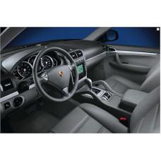 Porsche 955 Cayenne Dash Interior Aluminium Trim Black 95504480027QHA