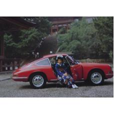 Porsche Poster 1967 911 Coupe Japan