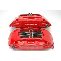 Porsche 993 Turbo Brake Calipers Front 99335142510 99335142610 Big Red
