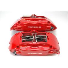 Porsche 993 Turbo Brake Calipers Front 99335142510 99335142610 Big Red