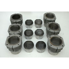 Porsche 911 906 Engine Pistons Cylinders 81mm Six 81mm Biral