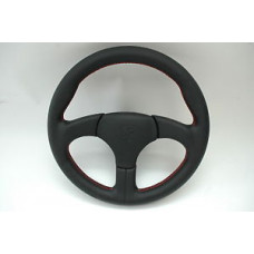 Porsche 911 930 930S Sport Steering Wheel Genuine NEW Red Stitching