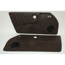 Porsche 911 930 Door Panels Brown Leather Speaker Grills