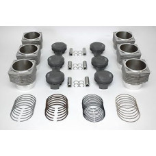 Porsche 911 Carrera 3.4 Mahle Pistons Cylinder 98mm