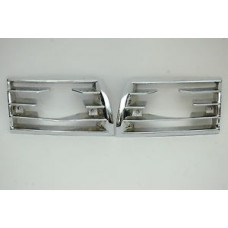 Porsche 911 Horn Grills Cut Out For Fogs 90155943128 90155943228
