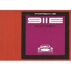 Porsche 911E Owners Drivers Manual 1969 W363E150009 NOS