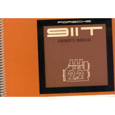 Porsche 911T Owners Manual 1970 WKD461720