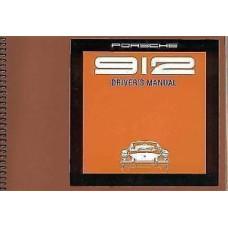 Porsche 912 Drivers Manual 912 Euro 1969 WKD461610