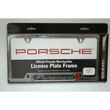 Porsche 970 Panamera License Plate Frame PNA70202200