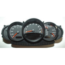 Porsche 986 Boxster Instrument Cluster 9866412040670C 44035 Miles Tiptronic