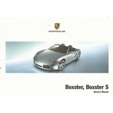 Porsche 987 Boxster, Boxster S Owners Manual 2008 WKD98702108