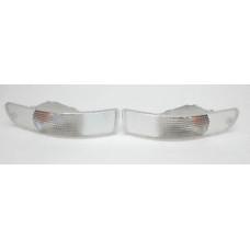 Porsche 993 Clear Turn Signal Lights Euro Clear 99363106100 99363106200