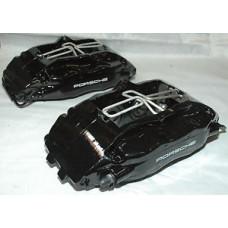 Porsche 993 Cup Turbo Brake Calipers Front aka Big Red, Black