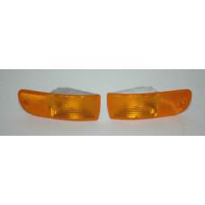Porsche 993 Marker Lights Amber USA 99363107100 99363107200