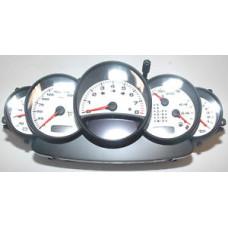 Porsche 996 Instrument Cluster White Face 9966419816470C SS 9966419817470C