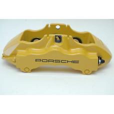 Porsche 997 GT3 Six Piston Caliper Yellow Front Right 99735143292