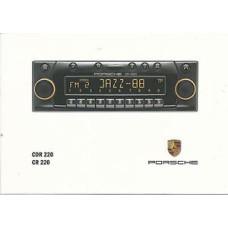 Porsche CD Radio Instructions Owners Manual CDR220 CR220 WKD47912699
