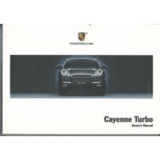 Porsche Cayenne Owners Manual Turbo  WKD94842104