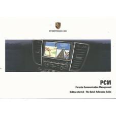 Porsche Communication Management PCM Quick Reference Owners Manual WKD95232110