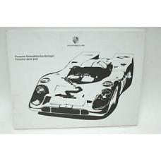 Porsche Desk Pad WAP0500980B