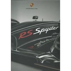 Porsche RS Spyder Book