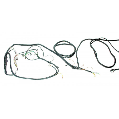 porsche 911 body wiring harness tunnel 91161200131