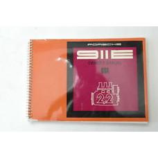 Porsche 911 E Owners Manual 1970 #7 WKD462423 Blem