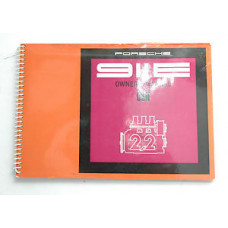 Porsche 911E Owners Manual 1970 #1 WKD462423 Blem