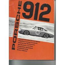 Porsche 912 Repair Drivers Manual Handbook
