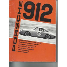 Porsche 912 Repair Drivers Owners Manual Handbook