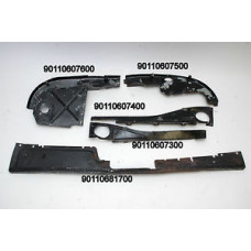 Porsche 914-6 Engine Tin Sheet Metal KIT COMPLETE 90110681700 90110607400