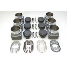 Porsche 930 965 Mahle 3.3 Turbo Pistons Cylinders 93010395408 97mm