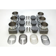 Porsche 930 Mahle 3.4 Pistons Cylinders Mahle TURBO 7.5-1 Compression 98mm