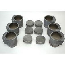 Porsche 930 Turbo Engine Pistons Cylinders 3.3 93010396903 97mm