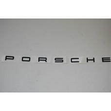 Porsche 958 Cayenne Porsche Lettering Rear Lid 95855968702