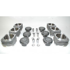 Porsche 964 RS 3.8 102mm Pistons Cylinders MAHLE Bore In