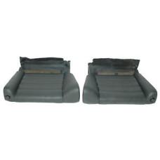Porsche 965 964 Turbo Jump Seats Black Leather 96452201706XK8 96452201806XK8