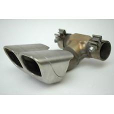 Porsche 987 Cayman Muffler Exhaust Pipe & Tip 98711135300 98711125601