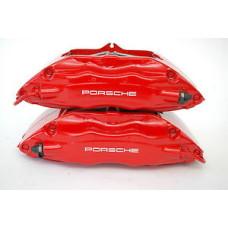 Porsche 993 Calipers Big Red 99335142510 99335142610