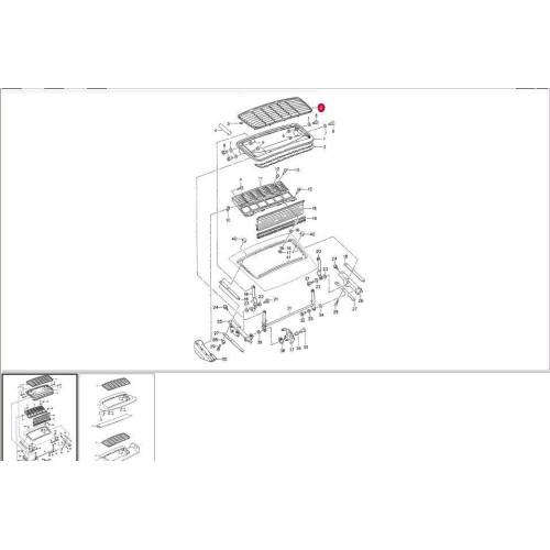 Porsche 993 Motor Abdichten: Porsche 993 Engine Grille Rear Satin Black 9935125870001C