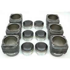 Porsche 993 Engine Pistons Cylinders USED 99310391521