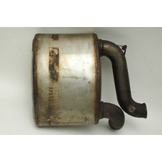 Porsche 993 Muffler Turbo 99311104554 SS 99311104555 Left