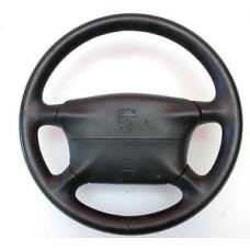 Porsche 993 Steering Wheel 4 Spoke 993347804508YR & Air Bag Black 993347089008YR
