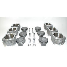 Porsche 993 Twin Turbo 3.8 Pistons Cylinder 102mm Mahle 99310691551 Bore In