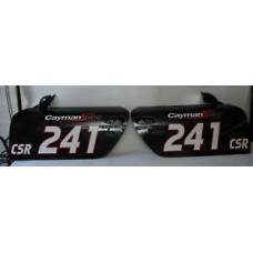 Porsche 997 987 Cayman Doors 99753101104GRV 99753101204GRV