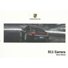 Porsche 997 Carrera Owners Manual 2009 WKD99702109
