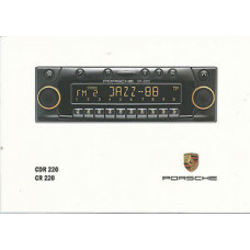 Porsche CD Radio Instructions Manual CDR220 CR220 WKD47912699