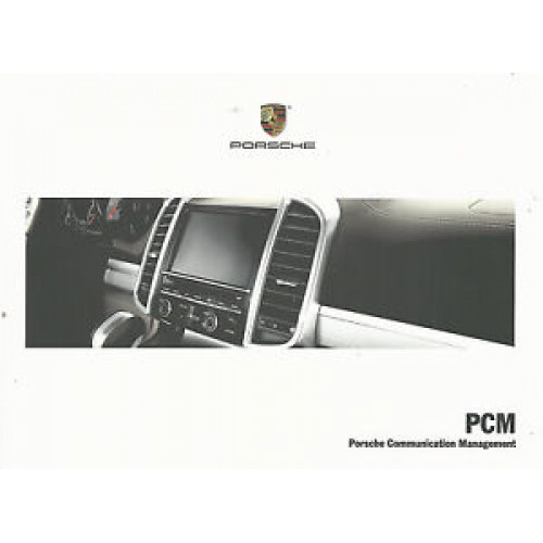 porsche communication management pcm manual wkd952002115 new rh msroadrace com Porsche Manual Book Porsche 911 Repair Manual