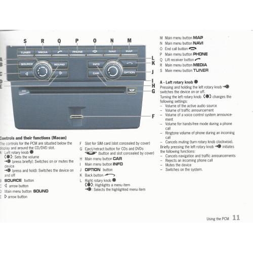 porsche communication management pcm owners manual wkd952002115 new rh msroadrace com Porsche PCM ManualDownload Porsche PCM Jukebox